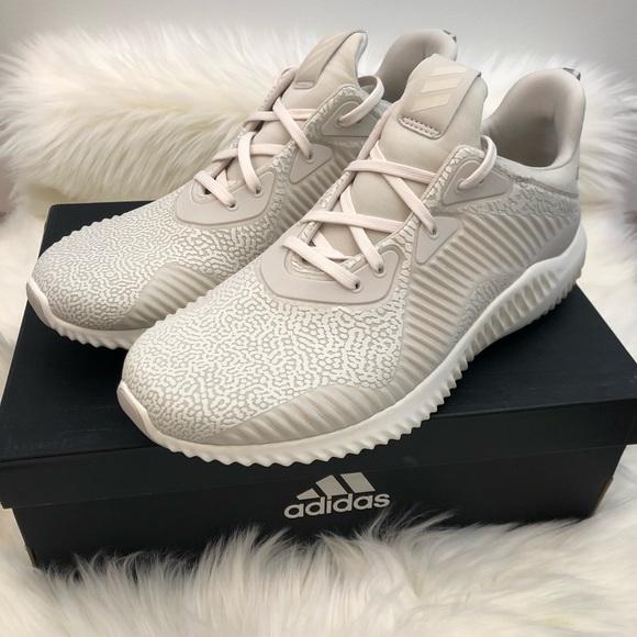 9ca205f250cdc Adidas Alphabounce HPC AMS cream sneakers